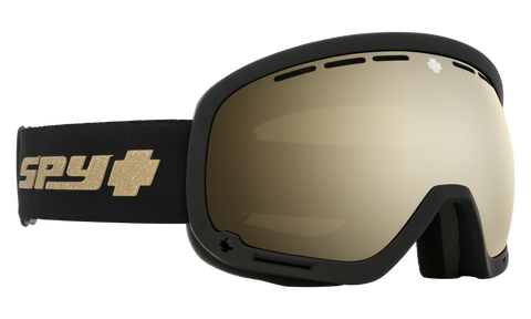 Spy - Marshall 25th Anniversary Black Gold Snow Goggles / HD Plus Bronze Gold Spectra Mirror + HD Plus LL Persimmon Silver Spectra Mirror Lenses