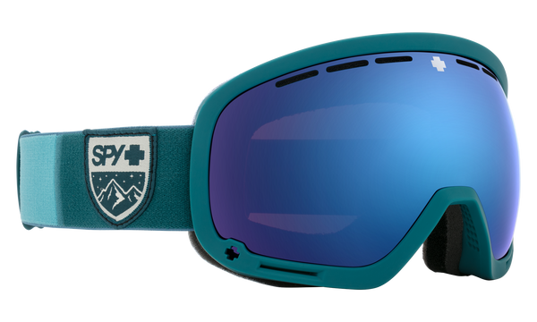 Spy - Marshall Colorblock Snow Goggles / HD Plus Rose Dark Blue Spectra Mirror + HD Plus LL Light Gray Green Red Spectra Mirror Lenses
