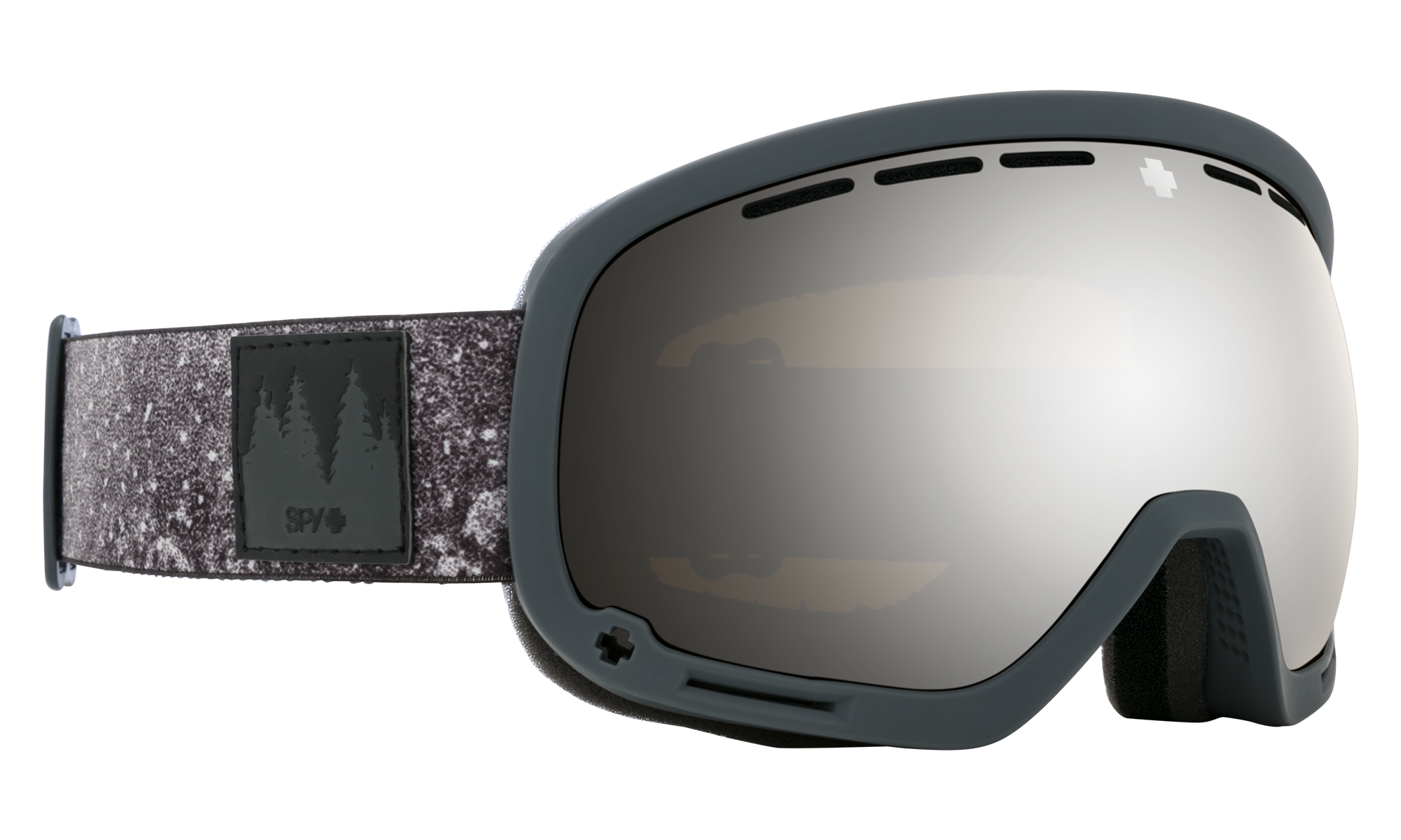 Spy - Marshall SPY + Danny Larsen Black Snow Goggles / HD Plus Bronze Silver Spectra Mirror + HD Plus LL Yellow Green Spectra Mirror Lenses