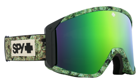 Spy - Raider Kush Snow Goggles / HD Bronze Green Spectra Mirror + HD LL Persimmon Lenses