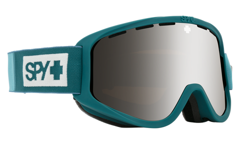 Spy - Woot Colorblock Teal Snow Goggles / HD Bronze Silver Spectra Mirror + HD LL Persimmon Lenses