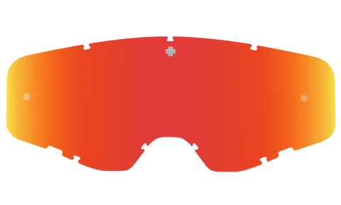 Spy - Foundation HD Smoke Red Spectra Mirror MX Goggle Replacement Lens