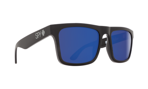 Champion - 6064 55mm Navy Sunglasses / Blue Flash Polarized Lenses