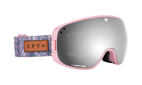 Spy - Bravo Native Nature Pink Snow Goggles / Happy Gray Green Silver Spectra Happy Yellow Lucid Green Lenses