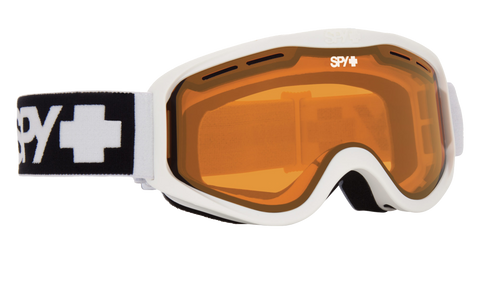 Spy - Cadet Matte White Snow Goggles / HD LL Persimmon Lenses