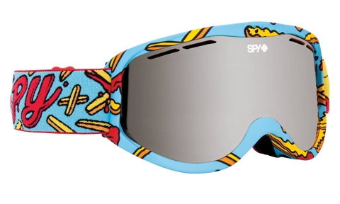 Spy - Cadet Pizza vs Fries Snow Goggles / Bronze Silver Spectra Lenses