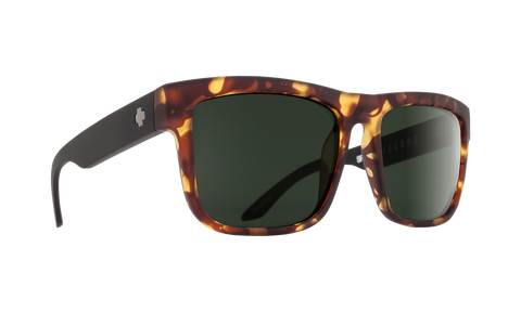 Spy - Discord Vintage Tortoise Sunglasses / Happy Gray Green Lenses