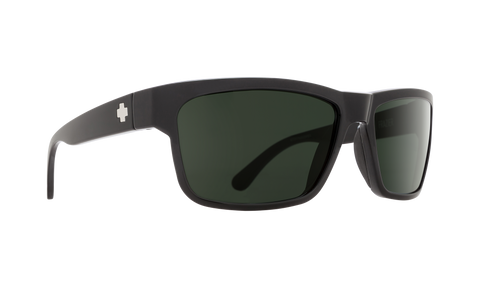 Spy - Frazier Black Sunglasses / Happy Gray Green Polarized Lenses