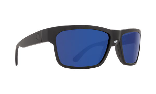 Spy - Frazier Matte Black Sunglasses / HD Plus Bronze Blue Spectra Polarized Lenses