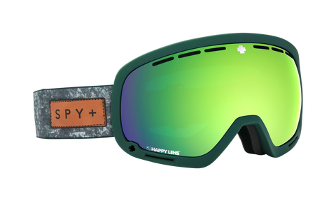 Spy - Marshall Native Nature Green Snow Goggles / Happy Bronze Green Spectra Happy Persimmon Lucid Silver Lenses