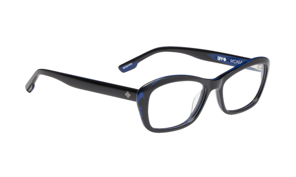Spy - Mona Black Blue Horn Eyeglasses / Demo Lenses