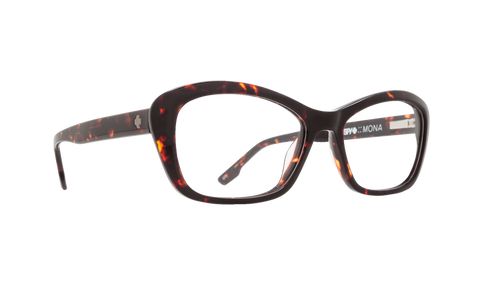 Spy - Mona Dark Tortoise Eyeglasses / Demo Lenses