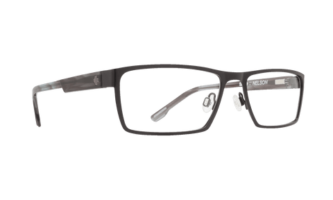 Spy - Nelson Matte Black Gray Smoke Eyeglasses / Demo Lenses