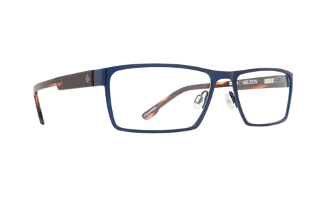 Spy - Nelson Matte Navy Dark Tortoise Eyeglasses / Demo Lenses