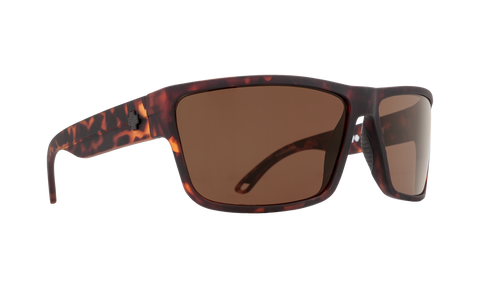 Spy - Rocky Matte Camo Tortoise Sunglasses / Happy Bronze Lenses