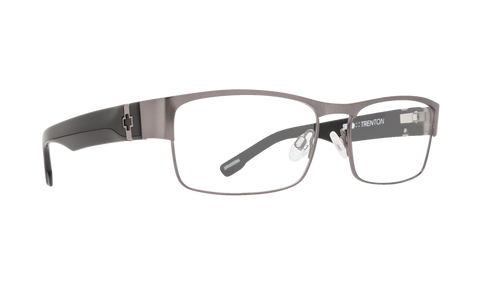 Spy - Trenton Gunmetal Black Eyeglasses / Demo Lenses