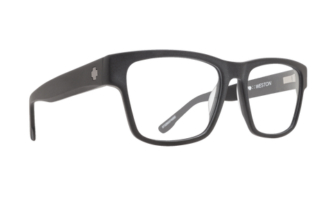 Spy - Weston 54mm Matte Black Eyeglasses / Demo Lenses