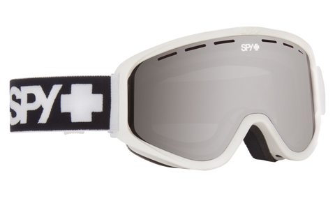 Spy - Woot Matte White Snow Goggles / Bronze with Silver Spectra + Persimmon Lenses