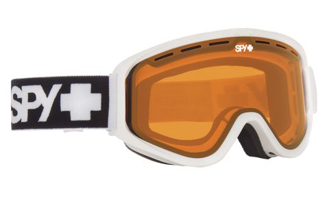 Spy - Woot Matte White Snow Goggles / Persimmon Lenses