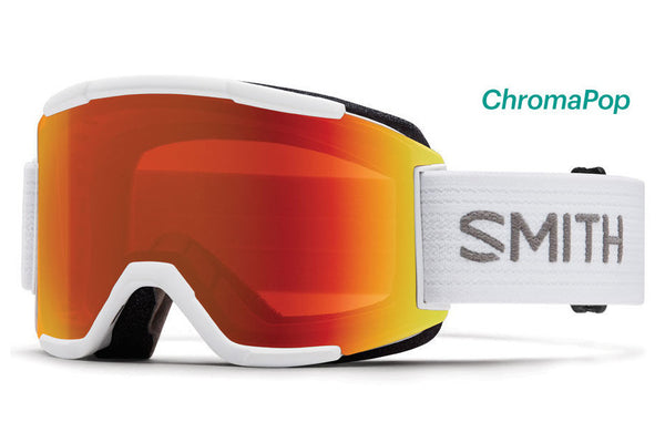 Smith - Squad White Goggles, ChromaPop Everyday Lenses