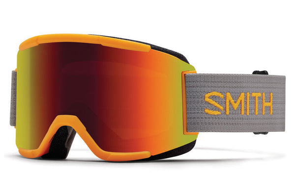 Smith - Squad Solar Goggles, Red Sol-X Mirror Lenses