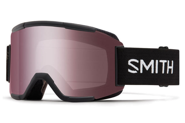 Smith - Squad Black Goggles, Ignitor Mirror Lenses