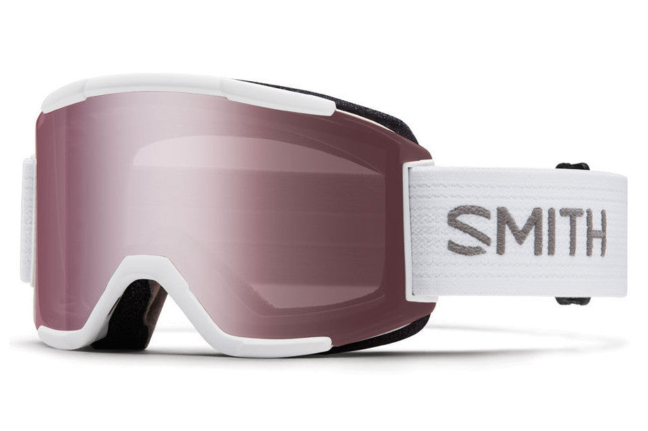 Smith - Squad White Goggles, Ignitor Mirror Lenses