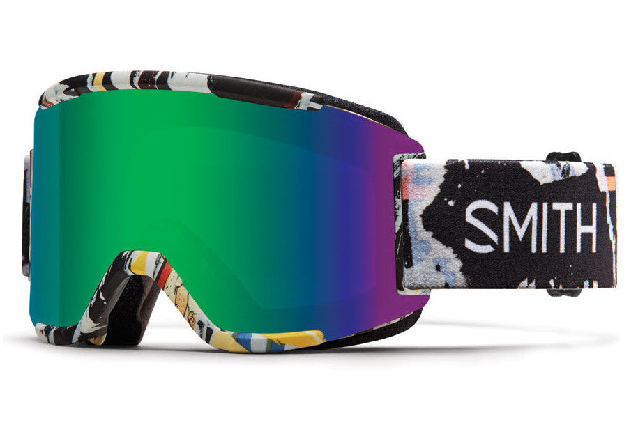 Smith - Squad Ripped Goggles, Green Sol-X Mirror Lenses