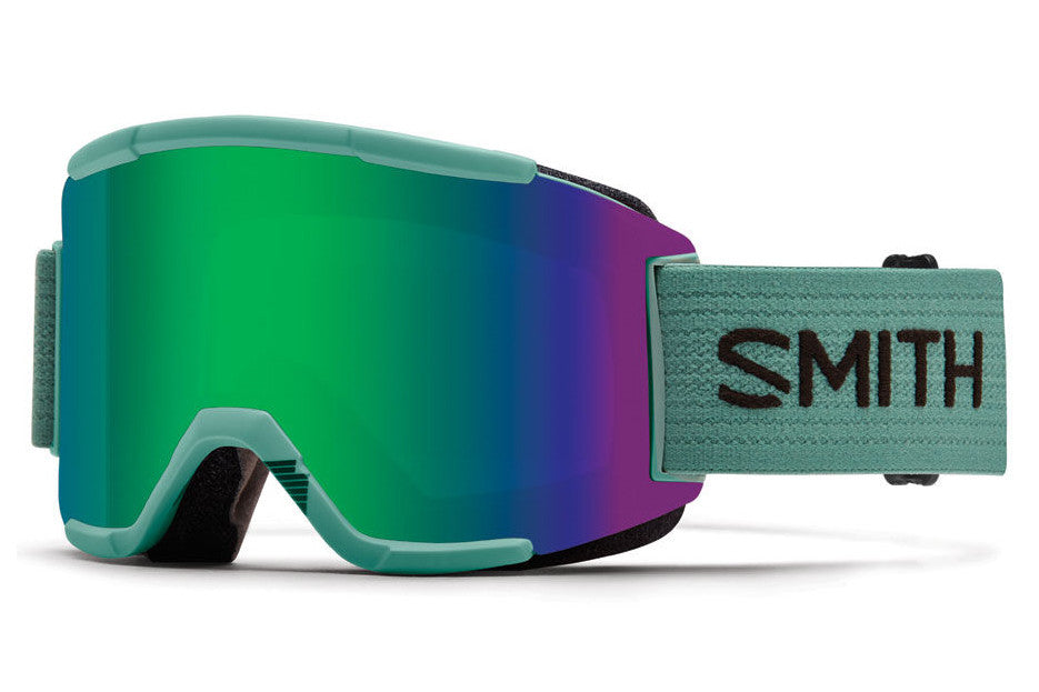 Smith - Squad Ranger Scout Goggles, Green Sol-X Mirror Lenses