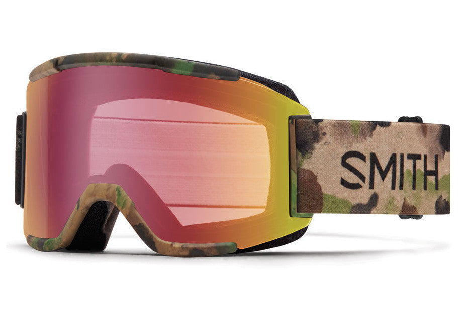 Smith - Squad Austin ID Goggles, Red Sensor Mirror Lenses