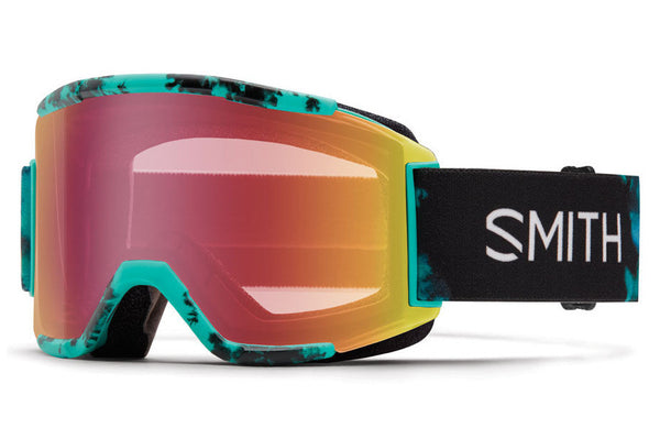 Smith - Squad Opal Unexpected Goggles, Red Sensor Mirror Lenses