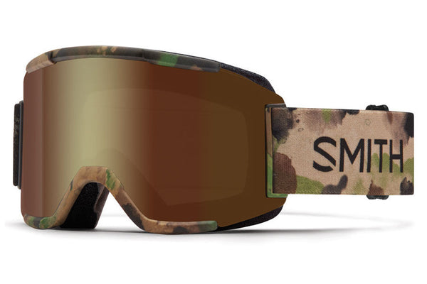 Smith - Squad Austin ID Goggles, Gold Sol X Mirror Lenses
