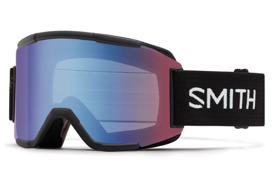 Smith - Squad Black Goggles, Blue Sensor Mirror Lenses