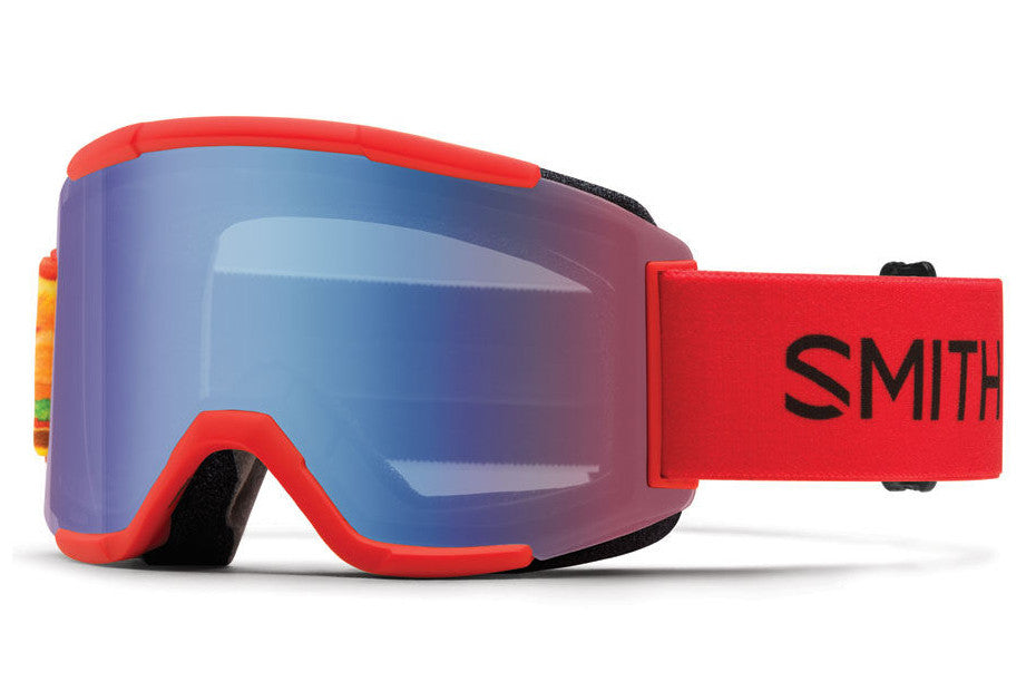Smith - Squad Fire Burgers Goggles, Blue Sensor Mirror Lenses