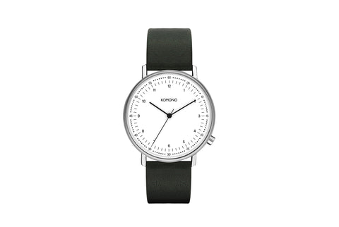Komono - Estelle White Marble Watch