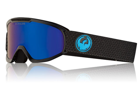 Dragon - DX2 Split Snow Goggles / Lumalens Blue Ion + Lmalens Amber Lenses