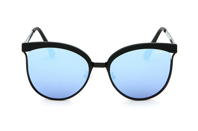Quay Stardust Black / Blue Sunglasses