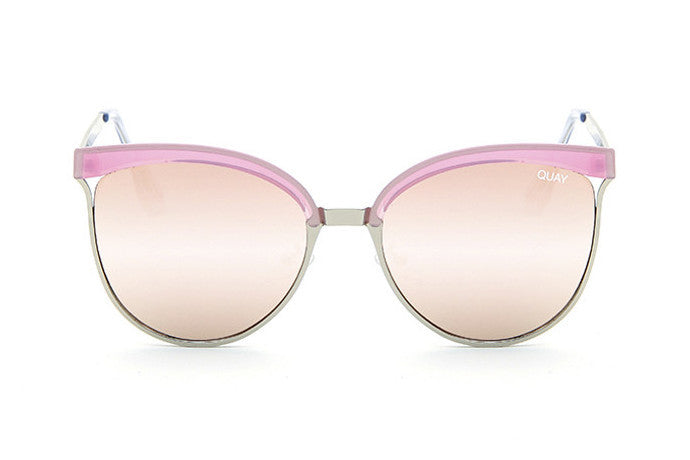 Quay Stardust Pink / Pink Sunglasses
