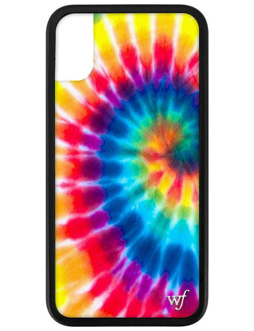 Wildflower - Tie Dye 4 iPhone XS/X Case