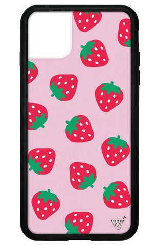 Wildflower - Strawberries iPhone 11 Pro Max Phone Case