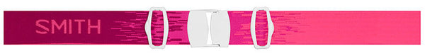 Smith - Virtue Fuchsia Static Goggles, Blue Sensor Mirror Lenses