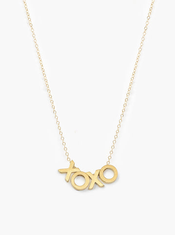 ABLE - Letter Gold 4 Letter Necklace