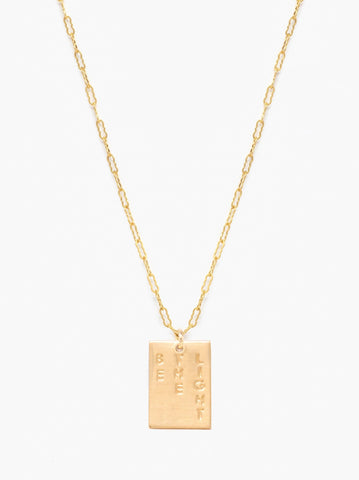 ABLE - Novel Gold Necklace