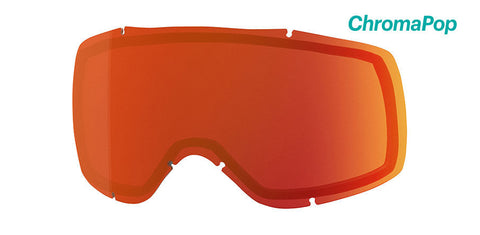 Smith - Showcase OTG Chromapop Everyday Red Mirror Snow Goggle Replacement Lens