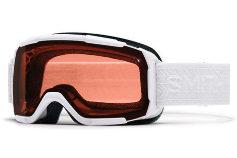 Smith - Showcase OTG White Eclipse Goggles, RC36 Lenses