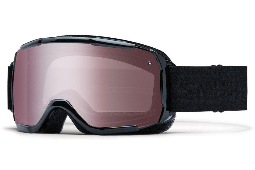 Smith - Showcase OTG Black Eclipse Goggles, Ignitor Mirror Lenses