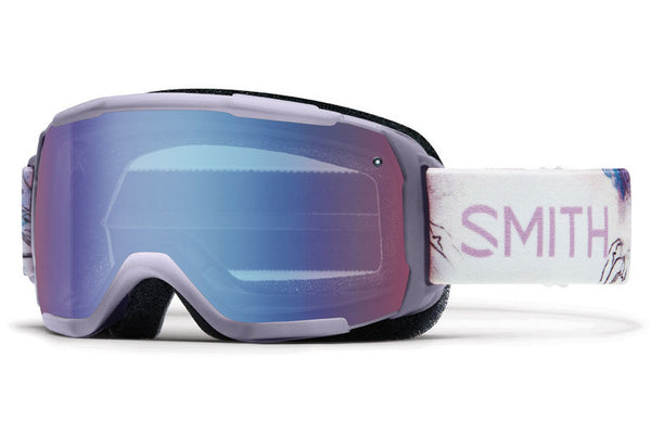 Smith - Showcase OTG Lunar Bloom Goggles, Blue Sensor Mirror Lenses