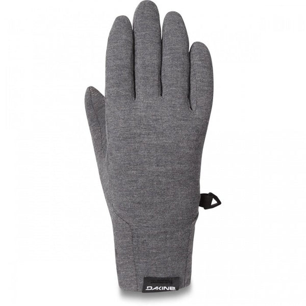 Dakine - Men's Syncro Wool Liner Gunmetal Ski Gloves