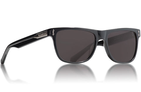 Dragon - Brake Shiny Black Sunglasses / Smoke Lenses