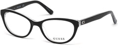 Guess - GU9169 Shiny Black Eyeglasses / Demo Lenses